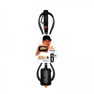 "KS 1.1 - ULTIMATE SUPER COMP 6'0""ONE PIECE LEASH - 5.2mm"